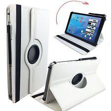 "Hülle Tasche für Fujitsu Stylistic Q550 Tablet Cover Etui 360° Perl Weiß 10.1"""