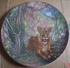 Royal Doulton Collectors Plate D6360 LIONESS AFRICAN GAME RESERVE
