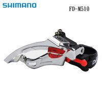 Shimano Deore FD-TY510 8/9S Front Derailleur Gear mech Shifter Triple Duel Pull