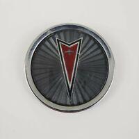 Vintage Pontiac Car Emblem Metal Round Hood Ornament