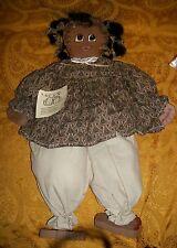 """Susan's Ragtime Sweetie Rag Doll- 23"""" x 10""""- New"""
