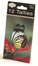 Congress Butterflies Bridge Tally Keeping Score Playing Cards Bicycle