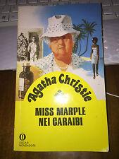 AGATHA CHRISTIE MISS MARPLE NEI CARAIBI oscar mondadori 1990  brossurato