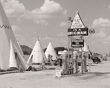 Teepee wigwam gas station motel cafe KY 1940 photo CHOICE 5x7 or request 8x10 or