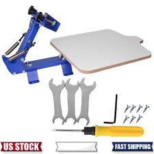 1color 1 Station Silk Screen Printing Machine Press Equipment T Shirt Diy Device