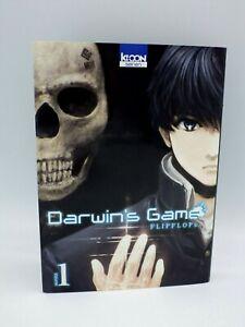Livre Manga Darwin's Game T. 1 - Flipflops - Ki-Oon Seinen  VF