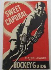 1940-41 Sweet Caporal Hockey Guide 151 Pages of Stats and Pictures  129482
