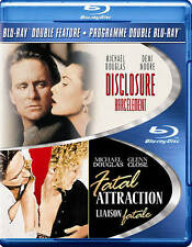 Disclosure/Fatal Attraction (Blu-ray Disc, 2013, 2-Disc Set)  Michael Douglas