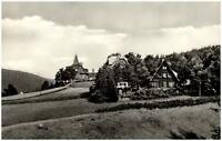 Rehefeld Erzgebirge Sachsen DDR Ansichtskarte 1967 Teilansicht Wiesen ungelaufen