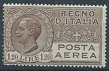 1926-28 REGNO POSTA AEREA EFFIGIE 1,20 LIRE MNH ** - ED259