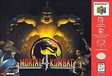 MORTAL KOMBAT 4 N64 NINTENDO 64 GAME COSMETIC WEAR