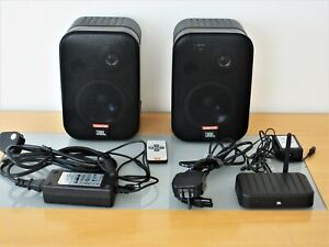 JBL CONTROL 2.4G WIRELESS SPEAKER SYSTEM  COMPLETE IN EXCELLENT CONDITION