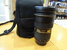 Nikon AF-S 24-70mm F2.8 G ED Autofocus Zoom Lens - Poor condition but working