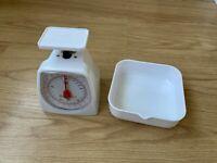 Dexam Retrò tradizionale meccanico per Cucina Grigio SCALE Ciotola in acciaio inox 5kg
