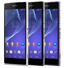 Sony Ericssion Xperia Z2 D6503 - Purple/Black/White -16GB Unlocked Smart Phone