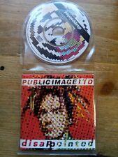 "PIL Public Image Ltd 3"" CD Mini Single DISAPPOINTED UK 1989 Virgin VSCD1181 VGC"
