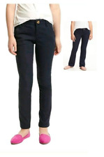 Nwt Old Navy Girls Navy Blue Uniform Pants Skinny or Boot Cut 8 10 12 14
