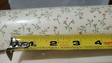 New listing Vtg Nos Wallpaper Double Roll Benchmark 1970s Sweet Tiny Pink Floral