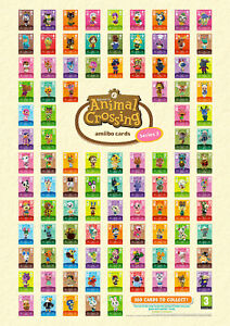 ANIMAL CROSSING AMIIBO SERIES 3 CARDS # 201-300