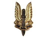SAS British Army Special Air Service Who Dares Wins Metal Military Forces Badge