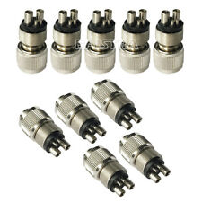 10X Dental M4 to B2 FOR High Speed Tubing Change  Connector Converter
