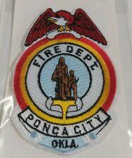 Ponca City Oklahoma Fire Department Patch OK