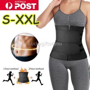 Gym Waist Trainer Sauna Sweat Belt Tummy Girdle Body Neoprene Body Shaper Corset