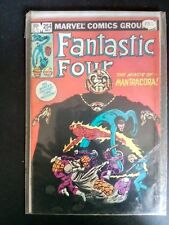 Fantastic Four 254 MInds of Mantracora Thing Torch Invisible Girl Mr Fantastic