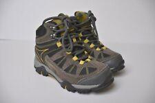 Hi-Tec Boys Altitude Lite I WP CH Brown Yellow Hiking Boots Kids Boys 11 /29 EUR