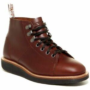 | NO RESERVE | Dr. Martens Lesley Tan Leather Women's Shoes UK8
