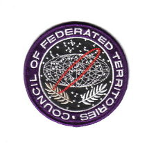 The Fifth Element Movie CFT Logo Embroidered Patch, NEW UNUSED