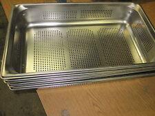 Gn 1//3 gastronormbehälter GN-recipientes de acero inoxidable 5,7 litros de profundidad 150mm perforada