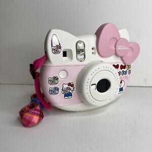 Fujifilm Instax Mini Sanrio HELLO KITTY Instant Film Camera Pink & Strap