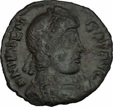 "VALENS ""Last True Roman"" 367AD Ancient Roman Coin Victory Cult  Angel  i42323"