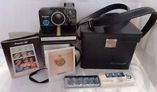 Polaroid SX-70 Rainbow ONESTEP SE Instant Camera +Manual & RARE Case -TESTED
