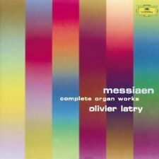 Olivier Latry-toutes les oeuvres d'orgue (GA) 6 CD Olivier Messiaen NEUF