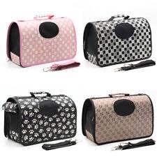 More details for pet carrier bag avc portable soft fabric folding dog kitten cat puppy travel uk