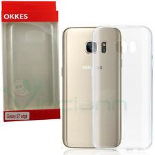 Custodia OKKES cover AIR trasparente p Samsung Galaxy S7 Edge G935F case sottile