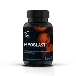 BPM Labs Myoblast Myostatin Inhibitor 60 Caps