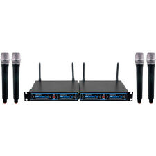 VocoPro UDH-CHOIR-4 Hybrid Handheld Wireless Microphone Package (900 MHz Band)