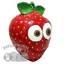 Latex fraise fruit funny face comédie dessin animé cosplay hen stag accessoires fête