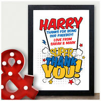 The Best Page Boy Award Print Gift Page Boy Best Man Usher Thank You Gifts