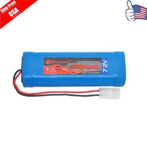1pcs 7.2v 3800mAh NI-MH RC Rechargeable Battery With Standard Tamiya Plug USA