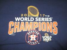 2017 HOUSTON ASTROS World Series Champions w/ Trophy (LG) T-Shirt