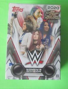 2020 Topps WWE Women's Division Wrestling Hobby Factory Sealed Box