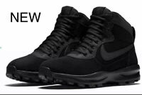 New Nike Manoadome Mens Hiking Boots Black/Black Winter/Summer 844358-003