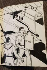 Van Kaufman Jr High School Yearbook 1934 Early Artwork Pontiac Art Fitzpatrick