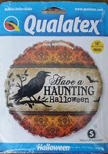 B/New Qualatex Halloween Foil 18 Inch Balloon