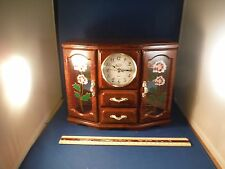 """Vintage Large Mirror Spinning Ballerina """"The Way We Were"""" Jewelry Case Music Box"""