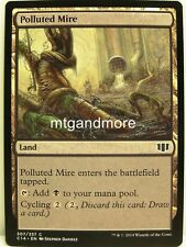 Magic Commander 2014 - 4x  Polluted Mire